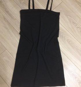 Платье тёмно-синее (44-46р)