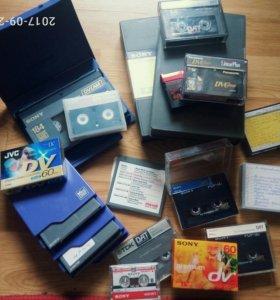 Двд диски, кассеты DV,minidisc