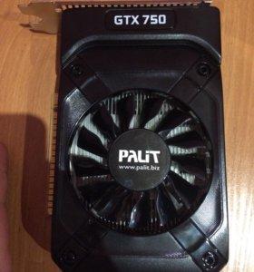 Видеокарта gtx 750 1g Palit
