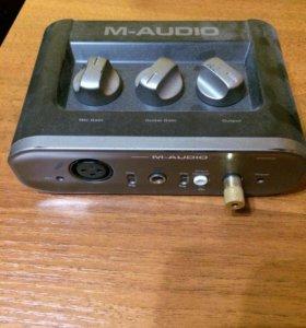 Аудиокарта M - Audio