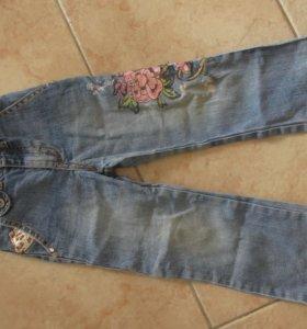 Джинсы под Ed Hardy из Сингапура и джинс.куртка
