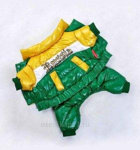 одежда теплые комбинезоны куртки для мини собачек
