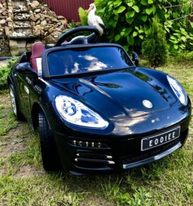 Электромобиль Porsche lux +подарок
