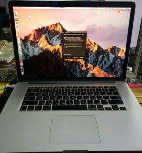 MacBook pro 15.4 Retina i7