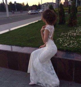 Свадебное/выпусное платье