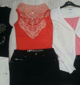 Пакет летней женской одежды из 8 вещей 40-42 р
