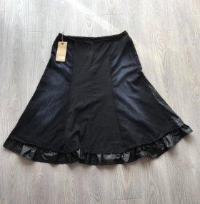 Джинсовая юбка новая Guzella