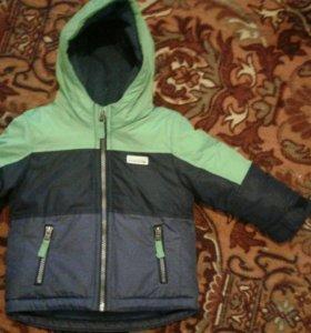 Продам демисезонную куртку на мальчика