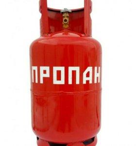 Газовый балон и газовую плитку