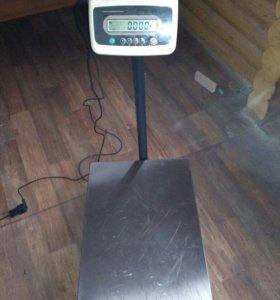 Весы электронные платформенные штрих М вп