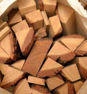 уголь дрова в мешках