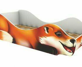 Кровать Лиса, Енот,Волк,Лев