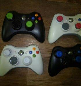 Беспроводные геймпады Xbox 360