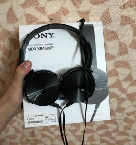 Крытые наушники Sony