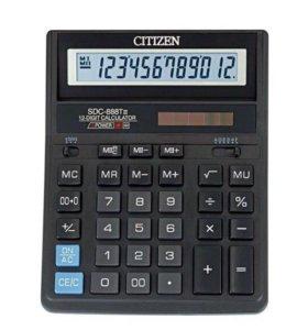Калькулятор Citizen SDC-888TII. 211217