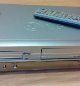 Видеоплеер+видеомагнитофон LG DC 488