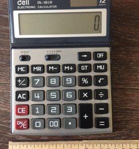Калькулятор Deli DL-1618. 211217