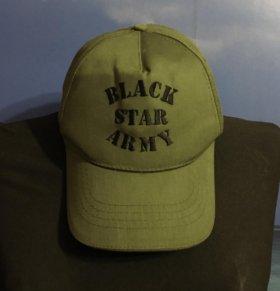 Бейсболка Black Star Army