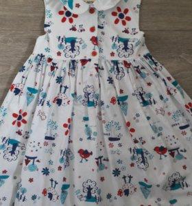 Платье для девочки р.86