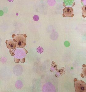Детское пастельное белье