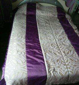 Кровать двуспальная + матрас