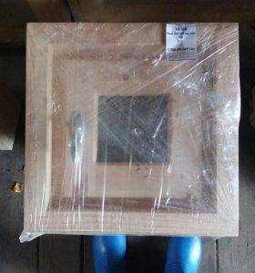 Окно деревянное 380*380 с фурнитурой