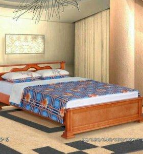 Двуспальная кровать Лотос-1