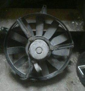 Вентилятор радиатора опель вектра б