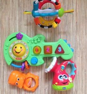 Fischer price Chicco игрушки
