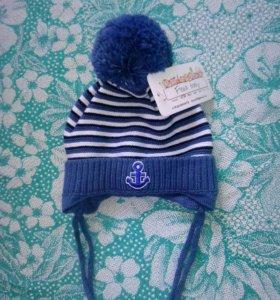 Новая шапочка на малыша