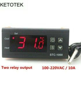 Релейный термостат для инкубатора