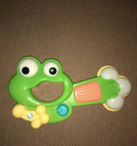 Лягушка-гитара музыкальная