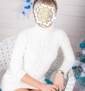 Вязаное платье-туника Zolla М