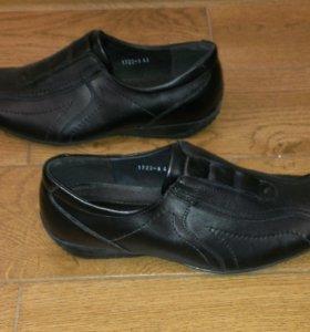 Новые мужские туфли по стельке 27, 28 и 29 см