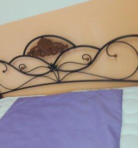 Кровать кованная с матрасом