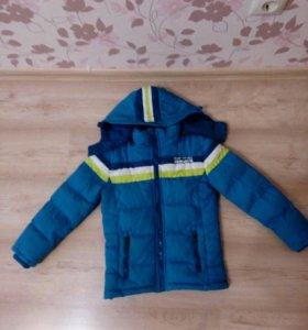 Зимняя куртка р. 110