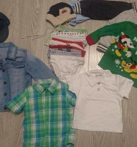 Пакет брендовых вещей на 2-3года (см фото)