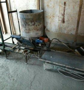 Автомат для производства тротуарной плитки