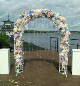 Свадебное оформление. Цветы. Выездная регистрация