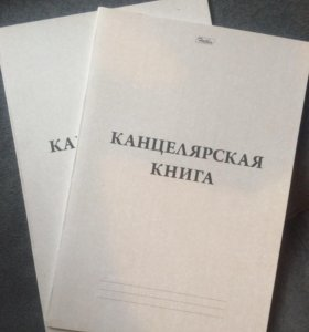 Канцелярская книга 48 листов