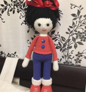 Кукла Стеша амигуруми