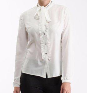 Блузка белая 42-44 (новая)