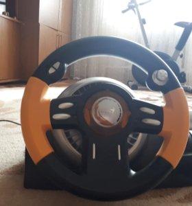 Руль + педали