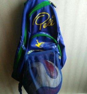 Рюкзак футбольный с сеткой для мяча pele