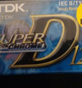 Новые аудиокассеты TDK хром 120 минут