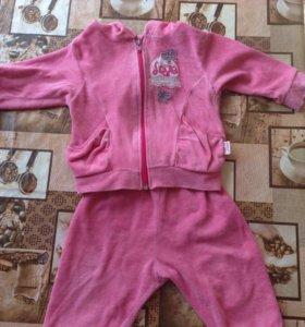 Детский костюмчик для девочки. Смотрите профиль