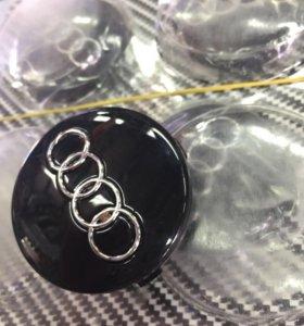 Заглушки ступичные Audi (защёлки)