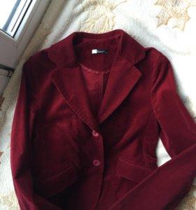 Новый женский пиджак жакет вельвет 42-44 S