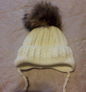 Зимняя шапка для младенца