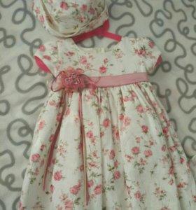 Платье нарядное на годик США
